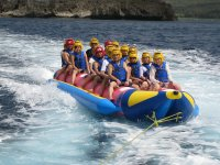 Tour in banana boat
