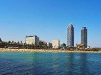 Skyline del Puerto Olímpico de Barcelona