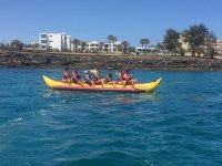 Banana boat a Lanzarote
