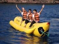 Percorso in banana boat
