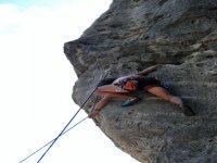 Ascensiones de escalada en roca