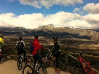 Perspective of the Sierra de Gredos