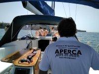 Tripulacion del barco andaluz