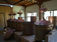 Sala de elaboracion del vino
