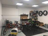 自行车修理车间