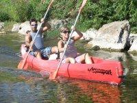 Descenso en canoa biplaza
