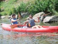 Excursiones guiadas en canoa biplaza