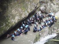 Barranquismo para grupos en Asturias