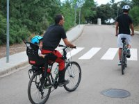 bici con silla infantil