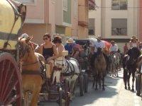 Romería en nuestros coches de caballo