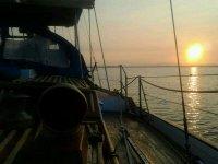 sole e tramonto