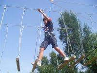 Parc acrobatique avec 4 activités d'aventure