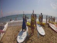 Curso de paddle surf en Gandía