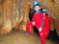 Espeleología para niños en Asturias