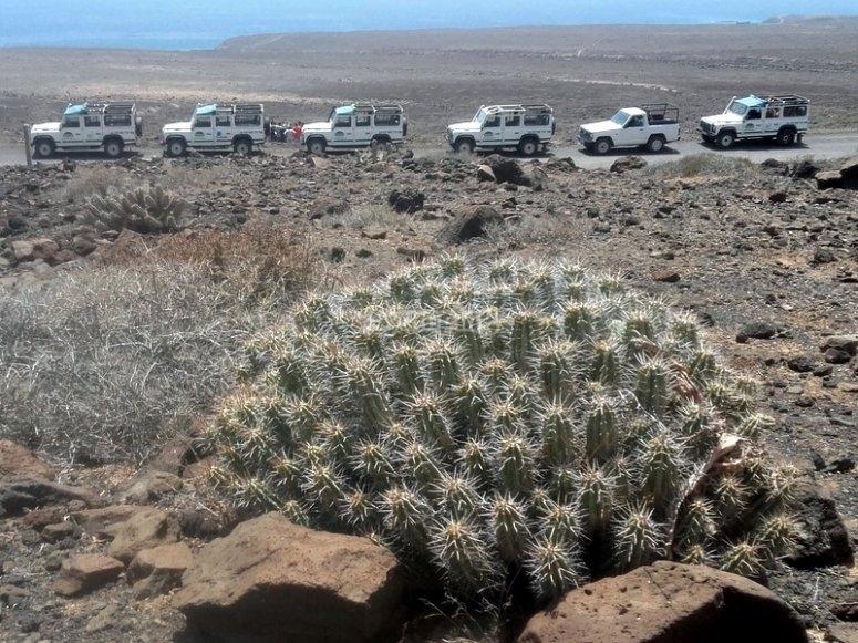 Recorrido por paisajes deserticos
