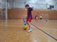 Entrenando en el English Football Camp