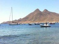 Enjoying a trip in the Mediterranean