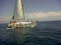 Sailboat in San Pedro