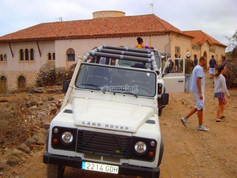 Excursion en Jeep a Maspalomas