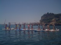 Expedicion femenina de paddle surf