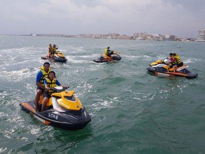 Excursión en moto de agua a Benidorm con snorkel