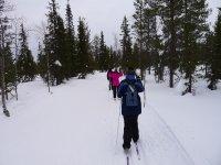 Una ruta por la nieve