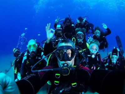 Battesimo spiaggia immersione Museo Atlantico Lanzarote
