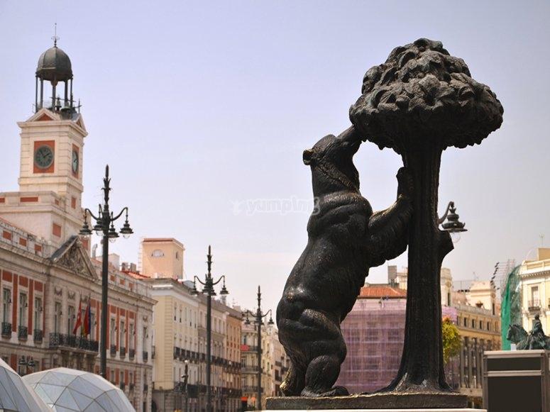 熊和马德罗尼亚