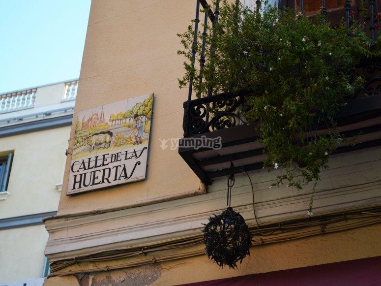 Calle Huertas