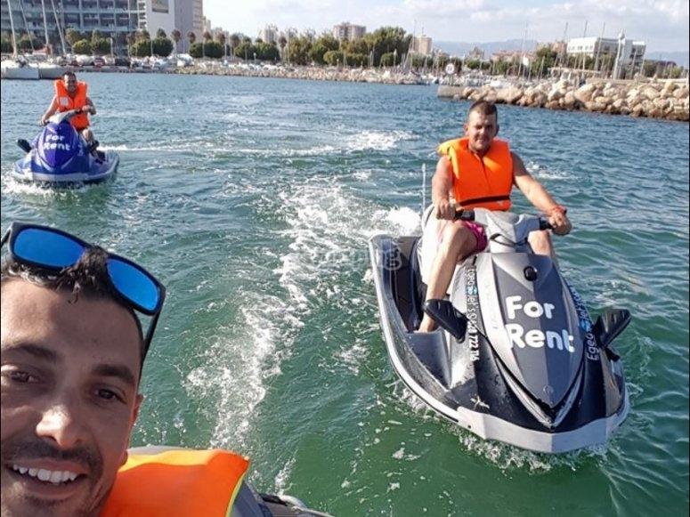Motos de agua en alquiler en Mallorca