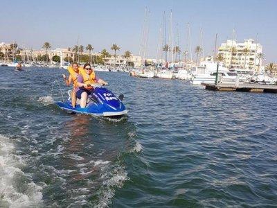 Alquiler moto de agua con licencia en Palma 1 h