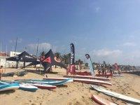 Alquiler paddle Surf en Badalona 1 hora