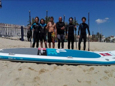 Giant SUP Surfboard Rental in Badalona