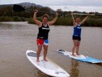 Clases de stand up paddle en playa Tarifa, 2 horas