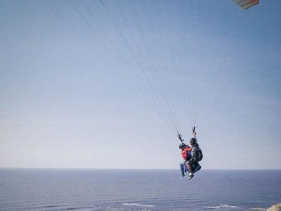 Paragliding in Sopelana Beach & Video, 20 Minutes