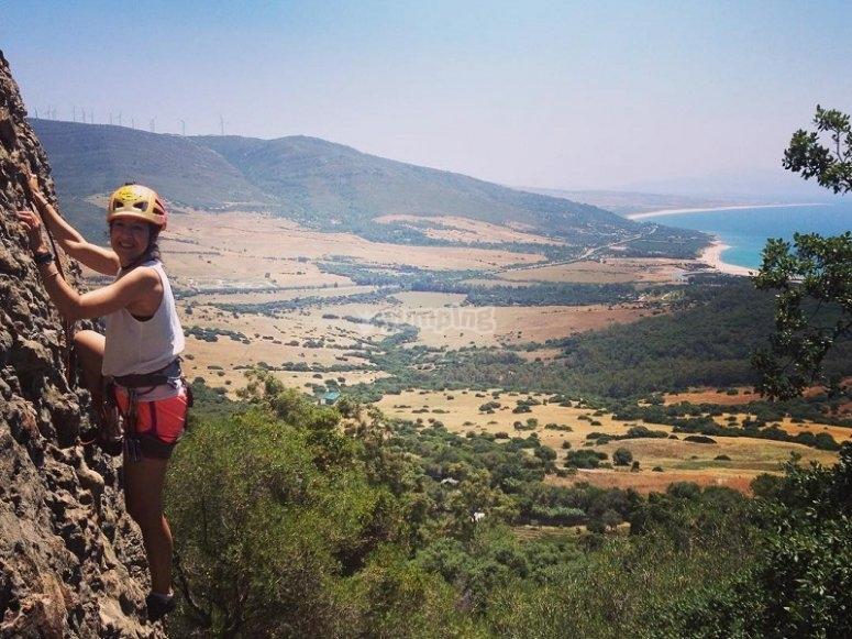 攀升至nivles disftintnos西班牙和非洲的壮丽景色