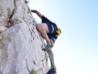 Long track climbing in Sierra de Toix and Marín