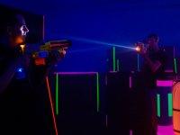 battaglia di laser tag