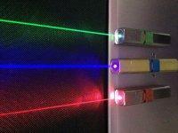 segui le luci laser