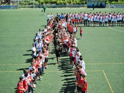 Campus de fútbol pretemporada Moratalaz 2 semanas