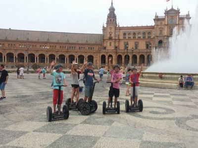Segway Trip, Plaza de España from Seville, 30m