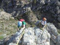 Escalada en la Cresta de Benicadell Grado IV