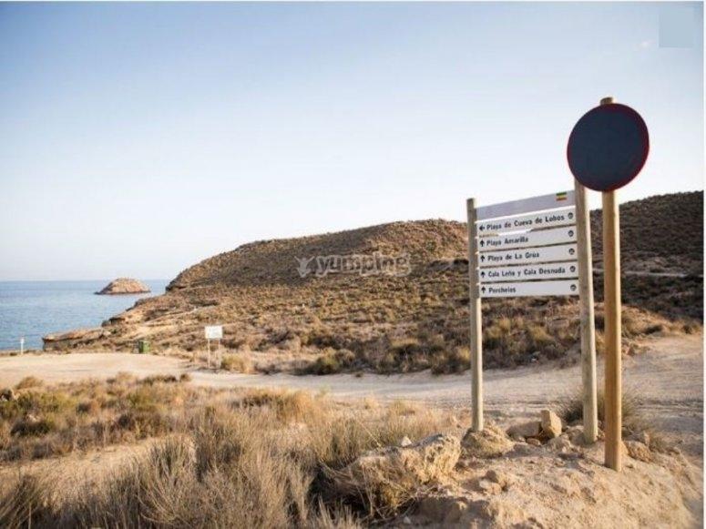 Disfruta de la costa de Mazarron en bicicleta