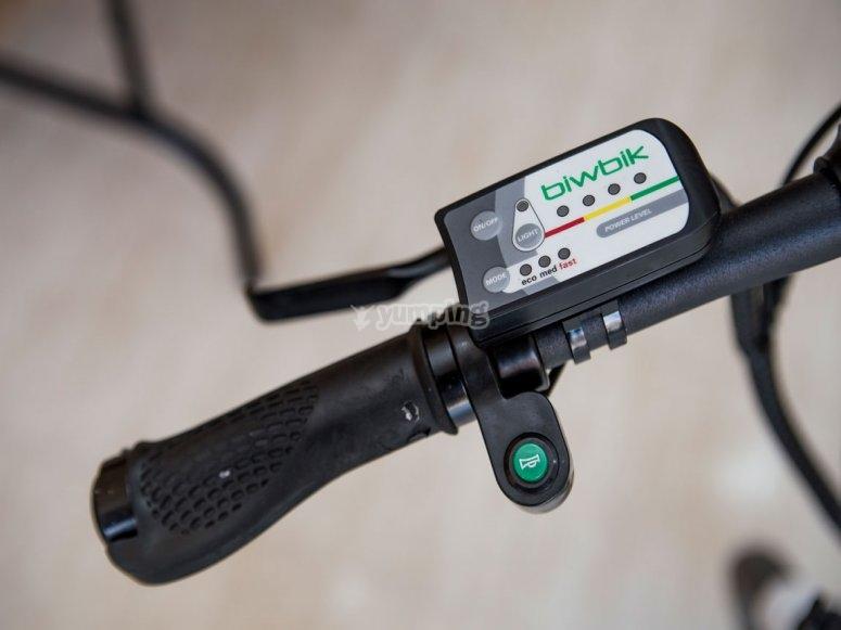 Bike with autonomy
