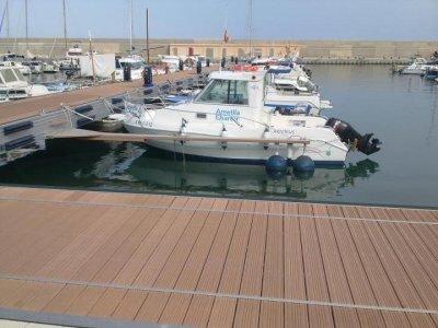 与船长L'Ametlla de Mar一起钓鱼5小时