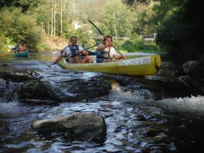 Descenso del río Eo en canoa para adultos 2 horas
