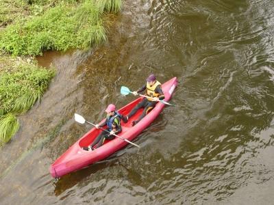 Descender el Alto Eo en canoa San Tirso de Abres