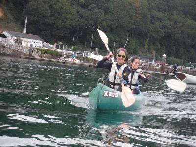 Giro in canoa lungo l'estate Eo prezzo bambini 2h