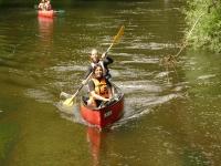 Surcando el rio