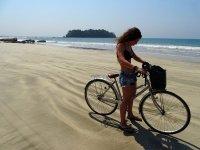 迷人的自行车之旅
